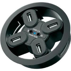 Wentronic 93896 - Hub USB 2.0 4 ports