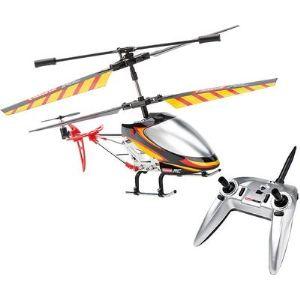 Carrera Hélicoptère télécommandé Black Stinger, 3 canaux gyro 2.4 GHz