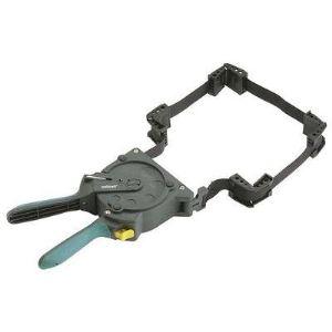 Wolfcraft 3681000 - Presse à sangle à une main à cliquet et à enroulement automatique