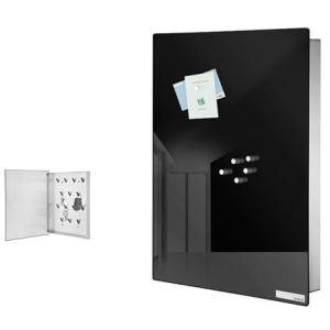 Blomus Boîte à clefs / tableau mémo en miroir tinté Velio GM