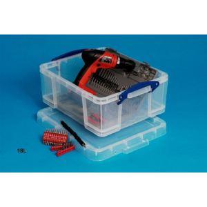 Really useful box Boîte rigide en plastique (18 L)