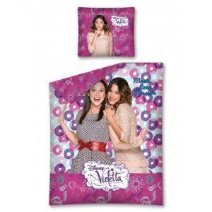 Violetta Disney - Housse de couette et taie (140 x 200 cm)