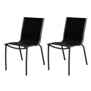 Proloisirs Linéa - Chaise de jardin en aluminium et textilène