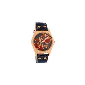 Le Temps des Cerises TC43GJET - Montre pour femme avec bracelet en cuir