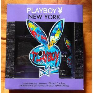 Playboy New York - Coffret eau de toilette et déodorant