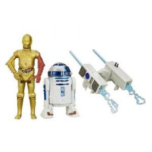 Hasbro Figurine Star Wars R2-D2 et C-3po