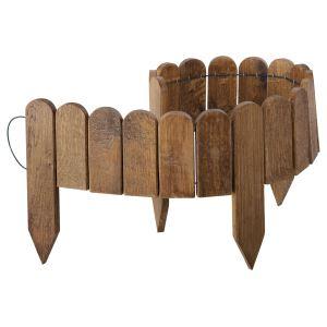 Jardipolys 0214632 - Bordure à planter en chêne 115 x 15 cm