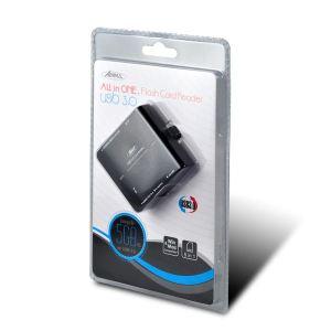Advance CR-008U3 - Lecteur de carte mémoire USB 3.0 All in One