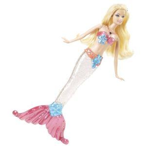 Mattel Barbie sirène étincelante