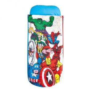 Room Studio Lit de voyage ReadyBed Avengers Comics Marvel (152 x 62 x 20)
