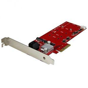 StarTech.com PEXM2SAT3422 - Contrôleur de stockage (RAID) M.2 Card SATA 6Gb/s PCIe 2.0 x2