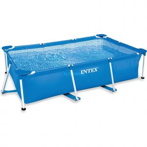 Intex 28270 - Piscine tubulaire rectangulaire 2,20 x 1,50 x 0,60 m
