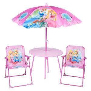 8 offres table de jardin avec parasol pour enfant for Salon de jardin avec parasol