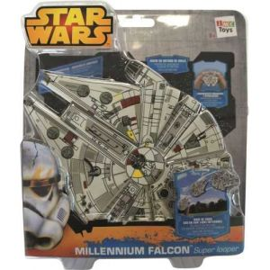 IMC Toys Star Wars Super Falcon Millenium à lancer