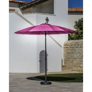 Proloisirs Pagode - Parasol Alu Fibre Us 300/18 inclinable