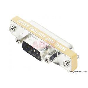 086350 - Mini adaptateur DB9 / DB25 9m 25F