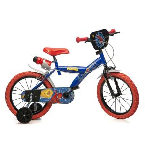 "Dino Bikes Vélo enfant Spiderman 16"""
