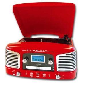 Inovalley RETRO-03N - Chaîne avec encodage vinyle et CD