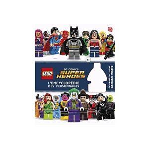 Encyclopédie illustrée Lego DC Comics