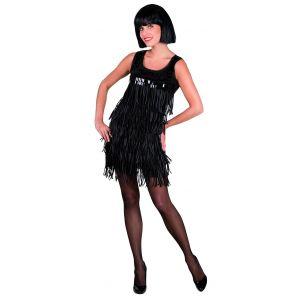 Déguisement charleston robe noir (taille M)
