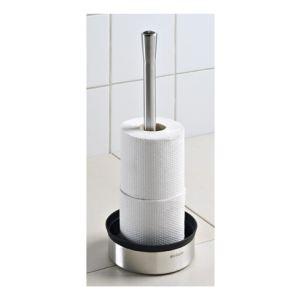 Brabantia Maxi porte rouleau papier toilette en inox