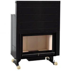 Ferlux OPEN 800 - Foyer en acier 14 kW avec récupérateur de chaleur