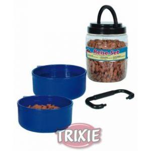 Trixie Boîte fraîcheur avec deux gamelles