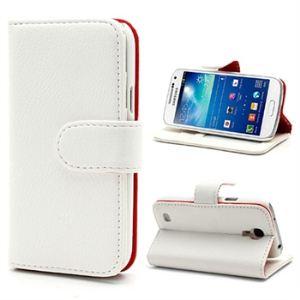 Mtp products 113770 - Étui Portefeuille pour Samsung Galaxy S4 Mini I9190, I9192, I9195