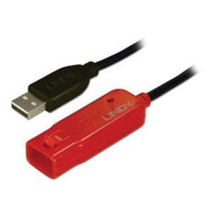 Lindy 42780 - Rallonge active USB 2.0 Pro 8 m.