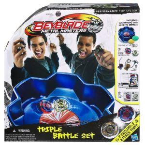 Hasbro Set Beyblade : Metal Masters Triple Battle Set