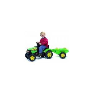 Falk Tracteur à pédales Farmer + Remorque