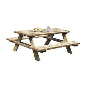 table de jardin castorama comparer 101 offres. Black Bedroom Furniture Sets. Home Design Ideas