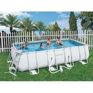 Bestway 56256 piscine tubulaire rectangulaire 549 x 274 for Piscine tubulaire bestway avis