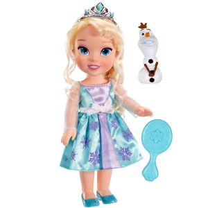Taldec Poupée Princesses Disney : La Reine des neiges - Elsa (38 cm)