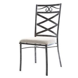 Venezia - 2 chaises baroques en métal