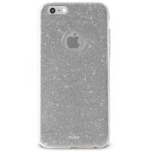 Puro Coque iPhone 7 TPU pailleté argent