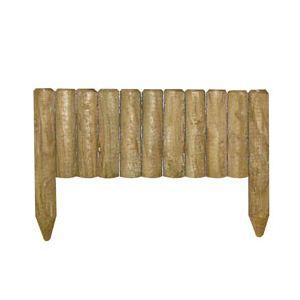 Cerland 210051 - Clôture Rondin droit en bois 5,7 x 0,20 m