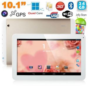"Yonis Y-tt51g24 - Tablette tactile 10.1"" sous Android 4.2 (8 Go interne + Micro SD 16 Go)"