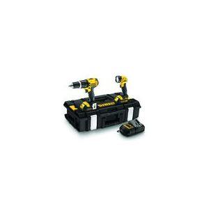 Dewalt DCK232C2 - Perceuse percussion DCD735 + Lampe DCL030 + 2 Batteries 1.5AH