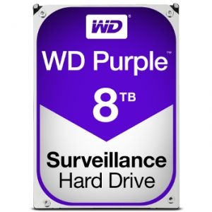 "Western Digital WD80PUZX - Disque dur interne 8 To 3.5"" SATA III 5400rpm"