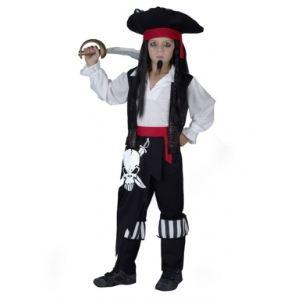 Déguisement pirate tête de mort garçon (7-9 ans)