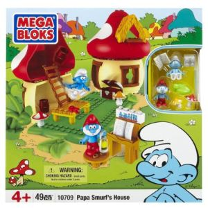 Mega Bloks 10709UN - La maison du Grand Schtroumpf