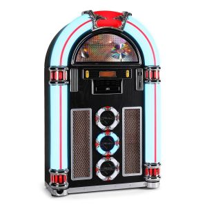 Ricatech RR1600 - Jukebox classic lecteur CD USB et SD radio FM