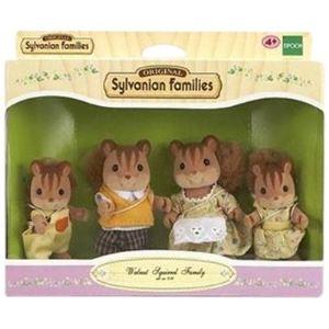 Epoch Sylvanian Families 3136 - Famille écureuil roux