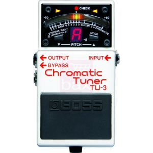 Boss Effect Chromatic Tuner TU-3  - Accordeur guitare