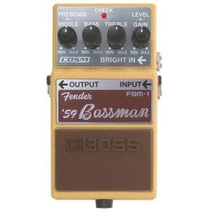 Boss Effect FBM-1 - Pédale simulateur d'ampli Fender Bassman
