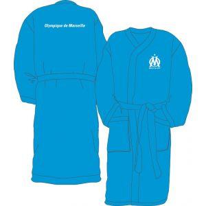 Cti Peignoir de bain Olympique de Marseille logo (taille S, M, L ou XL)