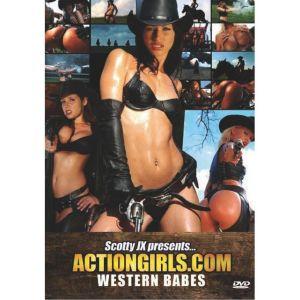 DVD - réservé Actiongirls : Western Babes