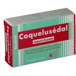 Elerte Coquelusédal nourrisson - 10 Suppositoires