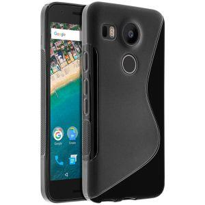 Avizar TPU-WAVE-BK-5X - Coque souple pour Google Nexus 5X
